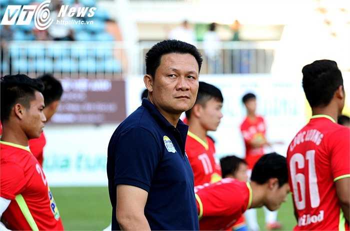 Trước trận tiếp đón Than Quảng Ninh trên sân nhà, HLV Nguyễn Quốc Tuấn chỉ mong có được một trận hòa