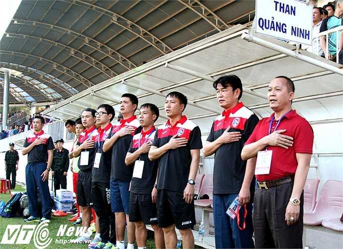 Bởi lẽ thành phần ban huấn luyện của đội bóng đất Mỏ có nhiều gương mặt dày dặn kinh nghiệm và đã quá quen với người hâm mộ bóng đá Việt Nam