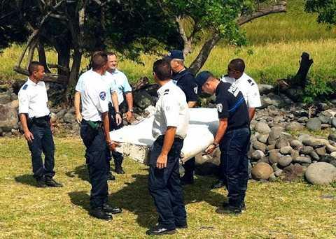 Bằng chứng duy nhất được khẳng định là một phần của MH370 là mảnh vỡ trôi dạt vào đảo Reunion ngày 29?7?2015