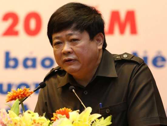 Tân Tổng Giám đốc Đài Tiếng nói Việt Nam Nguyễn Thế Kỷ.