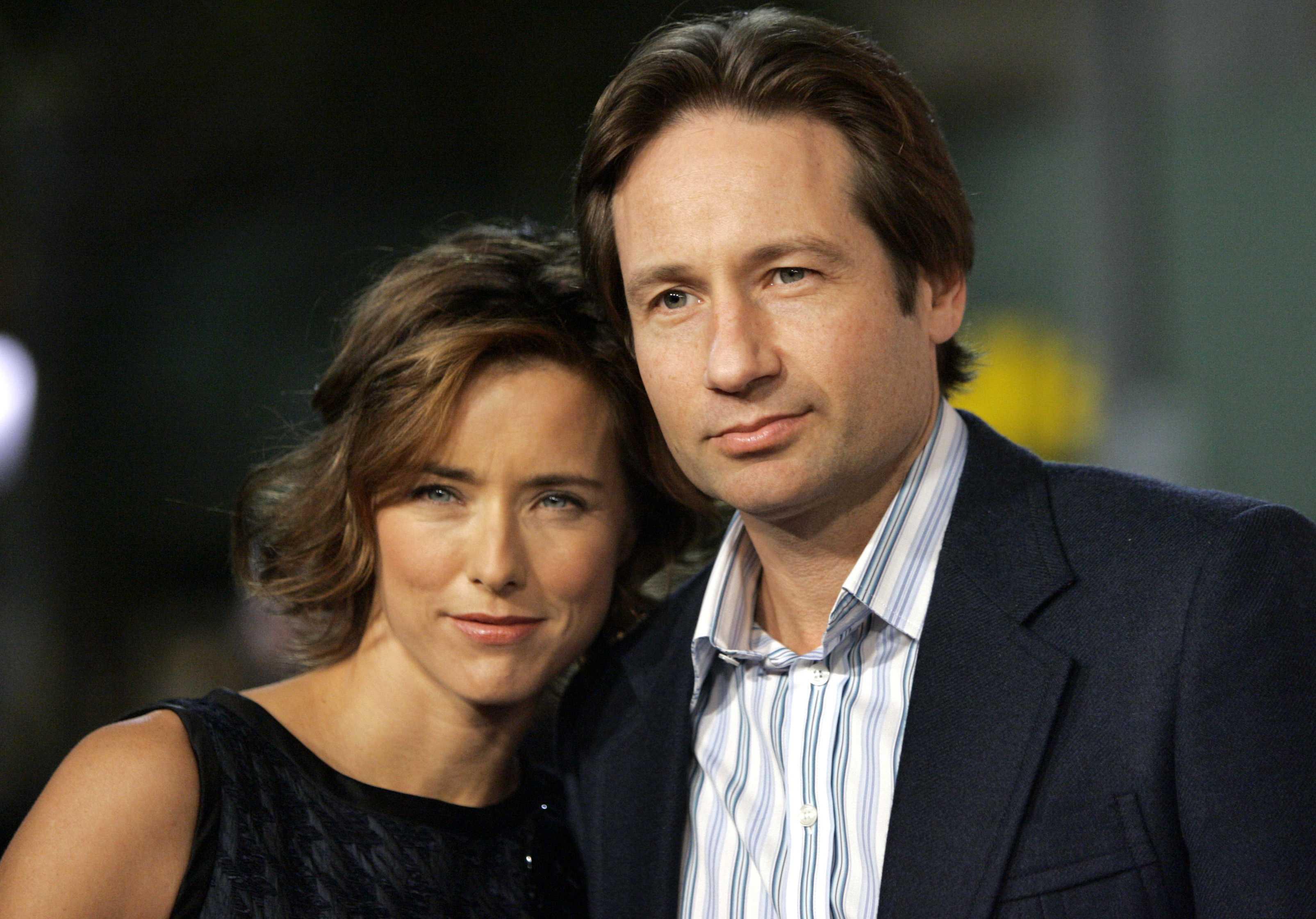 Vợ chồng David - Tea chính thức ly hôn năm 2014 sau nhiều lần tái hợp.