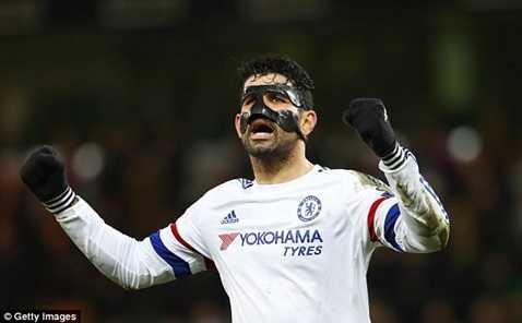 Diego Costa sẽ là niềm hy vọng số 1 của Chelsea