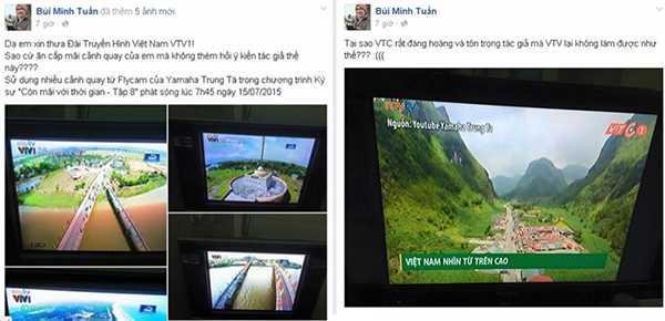 Những hình ảnh Tuấn trung tá tố VTV vi phạm bản quyền khi sử dụng phát trên VTV1