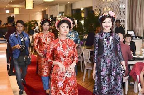 Buổi trình diễn 'Cô Ba Sài Gòn' gây ấn tượng.
