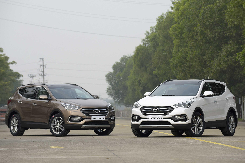 Hyundai SantaFe 2016 có ngoại thất lịch lãm