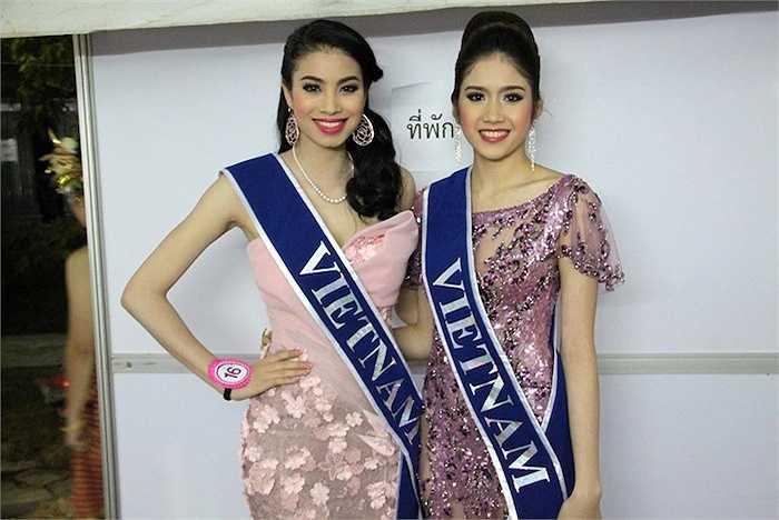 Năm 2013, sau khi lọt vào chung kết cuộc thi F-Idol, cô cùng Phạm Hương trở thành đại diện của Việt Nam tham gia Hoa hậu Đông Nam Á.