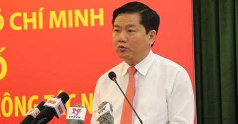 Bí thư Thành uỷ TP.HCM Đinh La Thăng