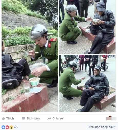 Hình ảnh hiện nhận được hàng nghìn lượt thích, cùng hàng trăm bình luận, chia sẻ. Ảnh chụp màn hình.