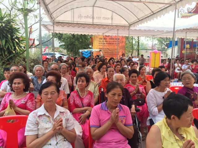 Cộng đồng người Việt tại Thái Lan tham gia lễ cầu siêu