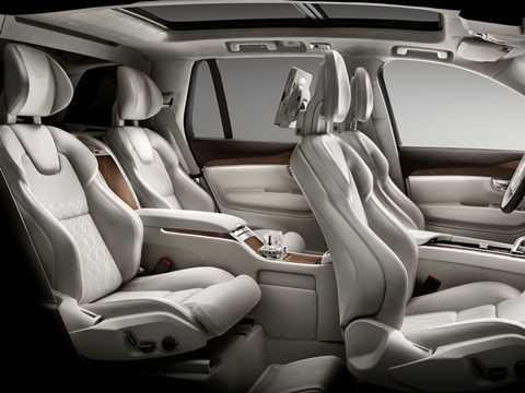 noi that dang cap tren mau suv sang chanh nhat cua volvo 6 Mẫu SUV hạng sang Volvo XC90 2016 có nội thất như thế nào?
