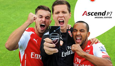 Arsenal cũng là 1 đối tác của Hoa Vi