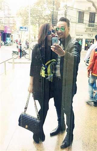 Bạn gái mới của Thành Trung tên Ngọc Hương, thuộc thế hệ 9x, kém nam MC gần 10 tuổi.