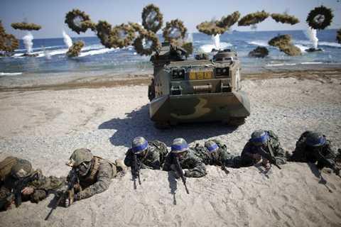 Mặc Bình Nhưỡng, Mỹ - Hàn vẫn tiến hành các bài tập trận một cách quy củ và kỹ lưỡng