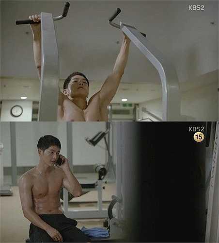Song Joong Ki hoàn toàn lột xác trong Hậu duệ mặt trời.