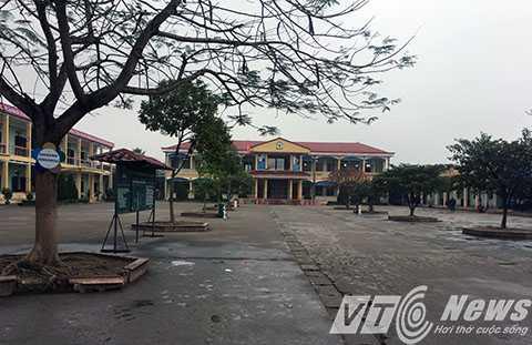 Trường Tiểu học Đặng Cương, nơi xảy ra vụ việc