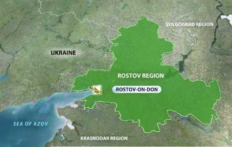 Bản đồ khu vực xảy ra vụ rơi máy bay
