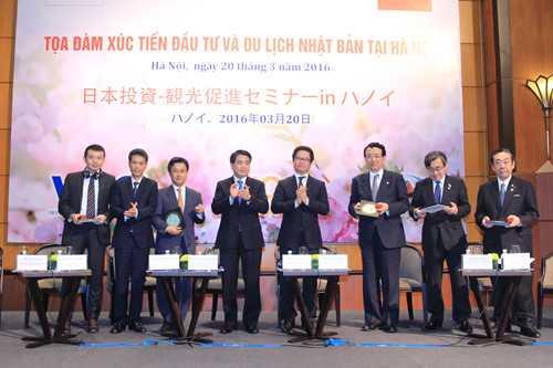 Chủ tịch VCCI Vũ Tiến Lộc cảnh báo: Việt Nam có thể đón nhận thành công được làn sóng đầu tư từ Nhật Bản không còn phụ thuộc vào nội lực và công cuộc cải cách thể chế của Chính phủ và các địa phương - Ảnh: Minh Hà
