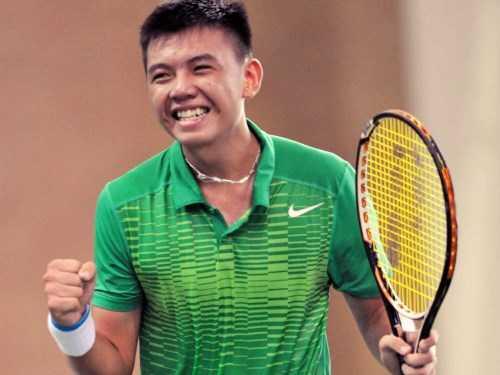 8. Lý Hoàng Nam (SN 1997) vận động viên quần vợt CLB Becamex Bình Dương: Đầu năm 2016, xếp thứ 912 trên bảng xếp hạng của Hiệp hội quần vợt nam chuyên nghiệp (ATP), thứ hạng cao nhất mà các tay vợt nam Việt Nam đạt được từ trước đến nay. Là vận động viên quần vợt Việt Nam đầu tiên vô địch nội dung đôi nam trẻ tại Wimbledon 2015. Năm 2015, đoạt chức vô địch quần vợt đơn nam tại giải vô địch quần vợt trẻ châu Á; lọt Top 10 Vận động tiêu biểu toàn quốc; Top 20 đại biểu Đại hội Tài năng trẻ. Ngoài ra, đoạt nhiều huy chương Vàng tại các giải đầu trong nước và quốc tế, như: Đại hội Thể thao trẻ châu Á 2013; Vô địch kết giải U18 ITF Grade 2 Bangkok 2013; Top 10 tay vợt châu Á; Số 1 khu vực Đông Nam Á ở lứa tuổi U18. (Ảnh: NVCC)