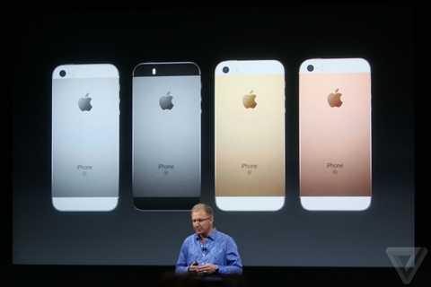 Màu rose gold đã xuất hiện trên iPhone SE