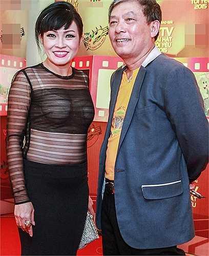 Trong cùng một sự kiện, nữ ca sĩ Phương Thanh cũng vướng sự cố tương tự.