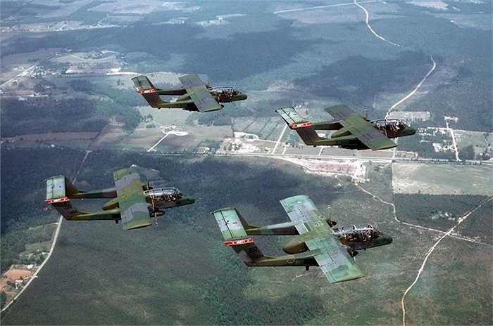 Các chiến cơ hỗ trợ chiến thuật OV-10 của Mỹ