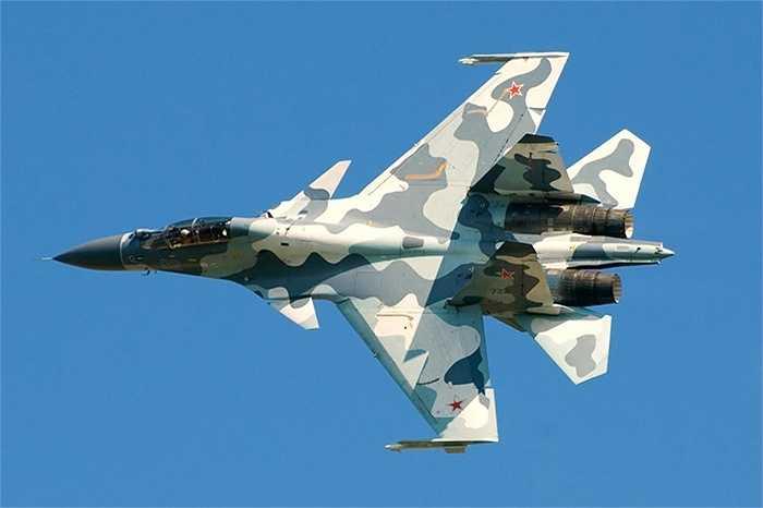 Rằn ri độc đáo của Su-30, Nga