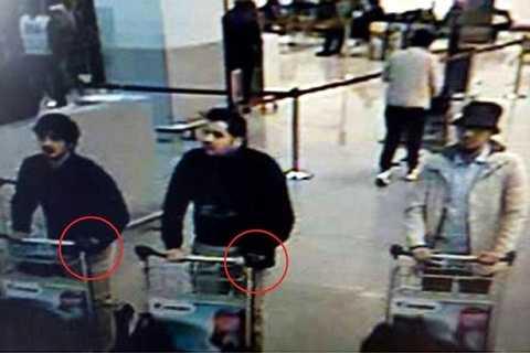 Hình ảnh của anh em nhà Bakraoui và nghi phạm thứ 3