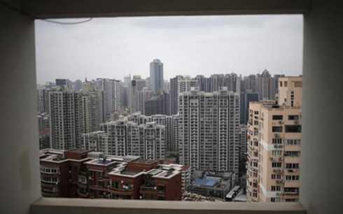 Một khu chung cư ở Thượng Hải, Trung Quốc