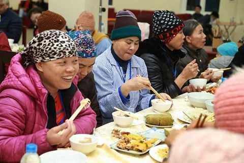 Bệnh nhân ung thư tại bệnh viện K 3 Tân Triều.