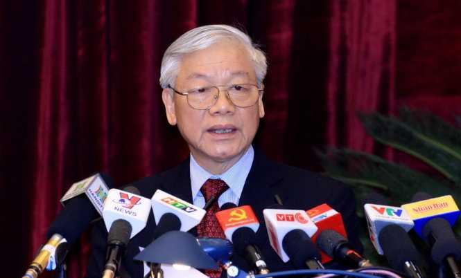 Tổng Bí thư Nguyễn Phú Trọng - Ảnh tư liệu