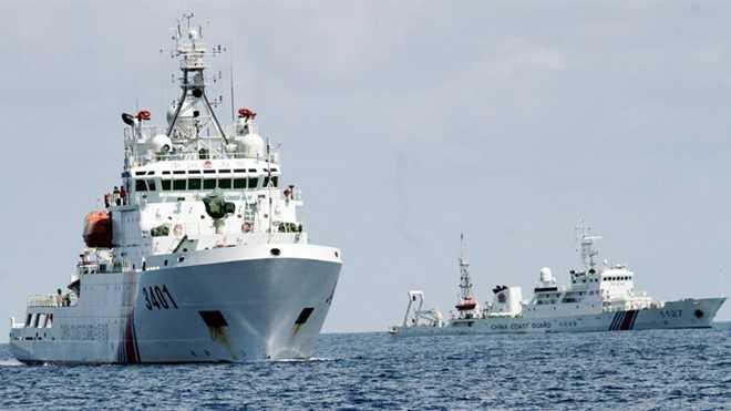 Trung Quốc trang bị vũ khí cho nhiều tàu cảnh sát biển