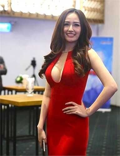Cô là một trong những hoa hậu có thân hình và nhan sắc ấn tượng nhất của Vbiz.