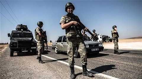 Binh sỹ Thổ Nhĩ Kỳ tại Iraq. (Nguồn: AFP)