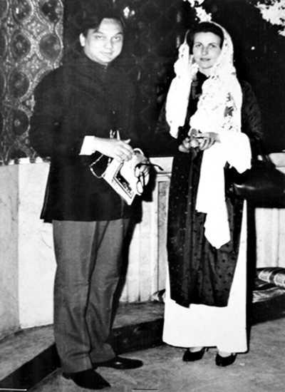 Yvette Trà và Hắc công tử Trần Trinh Huy. Ảnh: Tư liệu
