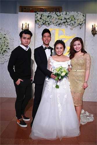 Dương Hoàng Yến và bạn trai Hà Anh.