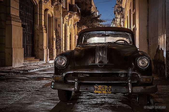 Xe cổ là đặc trưng của Cuba.
