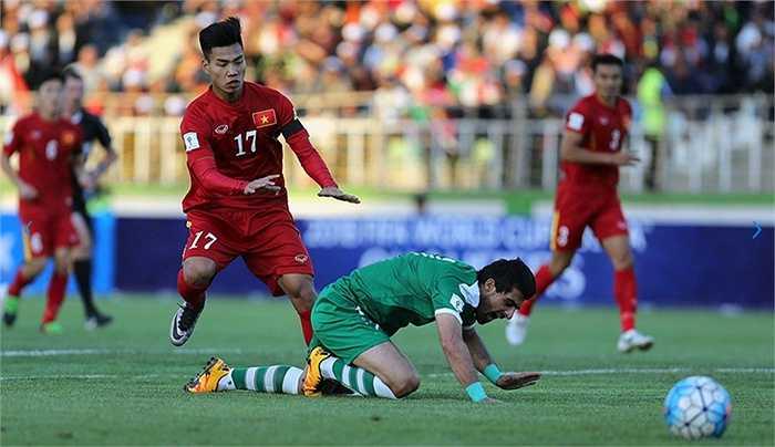 Văn Thanh chơi trận thứ 2 trong màu áo ĐTQG