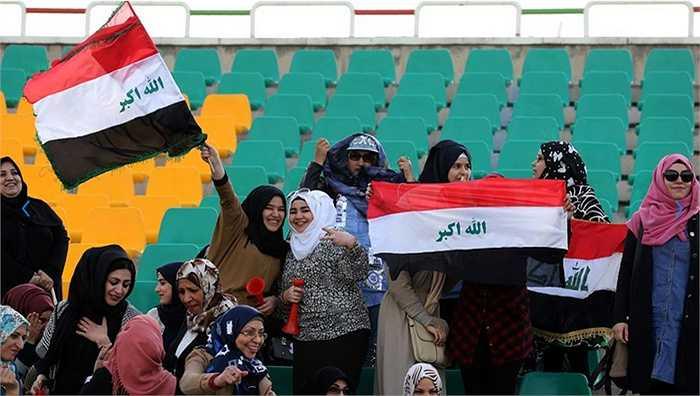 CĐV Iraq hạnh phúc với chiến thắng