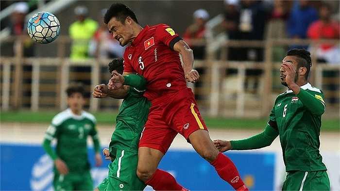 HLV Hữu Thắng nói đội tuyển Việt Nam thiếu may mắn nếu không đã có 1 điểm.