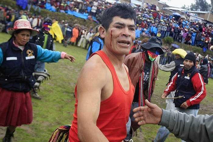 Và lễ hội Takanakuy đã trở thành một nét văn hóa truyền thống lâu đời của người dân Chumbivilcas.