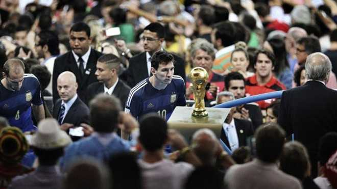 messi world cup 2014