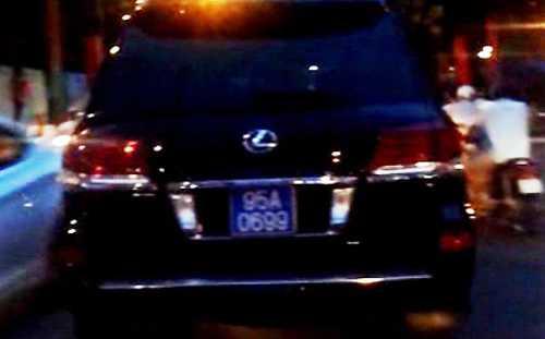 Vụ việc bắt đầu từ xe Lexus LX570 gắn biển xanhdoông Thanh sử dụnggây chú ý trong dư luận. Ảnh: A.X