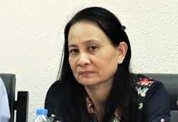 Bà Lê Thị Công. Ảnh: NLĐ