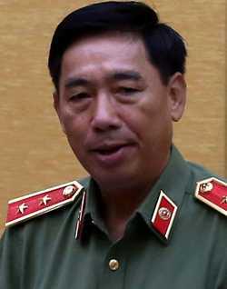 Trung tướng Lê Văn Đệ, Phó tổng cục Chính Trị - Bộ Công an. Ảnh: Bá Đô