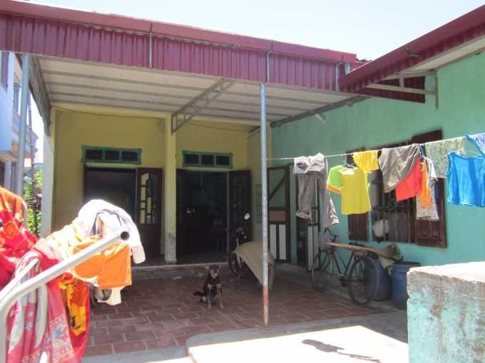 Ngôi nhà của gia đình anh Vân.