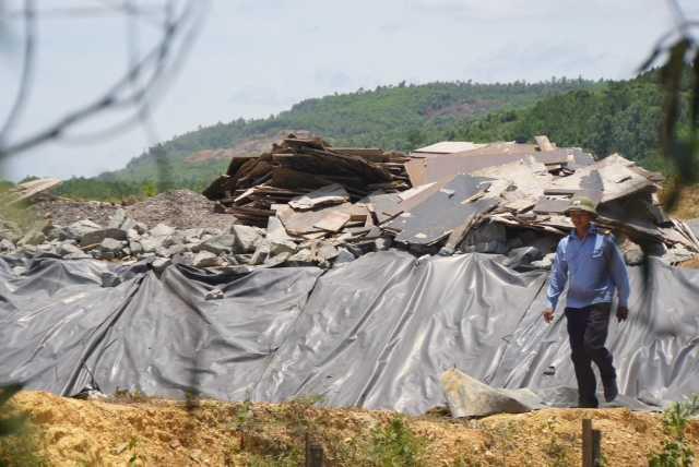 Cận cảnh nhà máy xử lý rác thải cho Formosa khiến dân phải bỏ đi - ảnh 7
