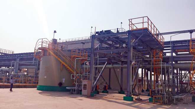 Trạm xử lý rác thải của Formosa Hà Tĩnh. Ảnh: Minh Thùy