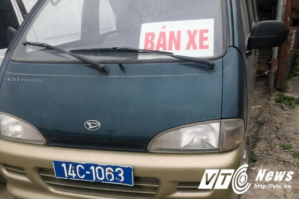 Hinh anh Lai xuat hien xe bien xanh duoc rao ban tai Quang Ninh