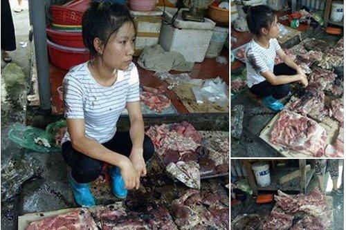 "Hinh anh Hai Phong chi dao ""nong"" vu 2 ke moi ro hat dau luyn tron chat thai vao nguoi ban thit lon"