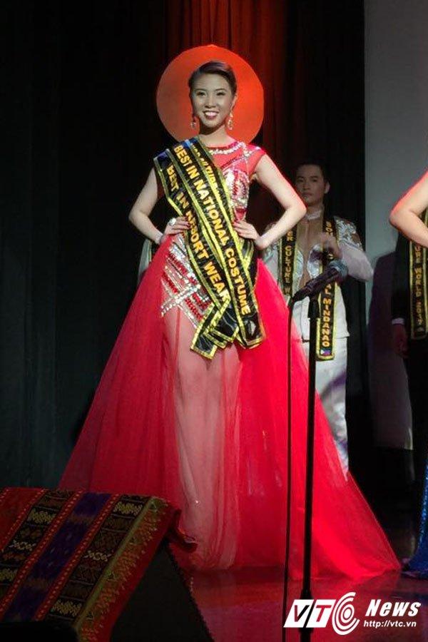 Hinh anh Nguoi dep Quang Ninh gianh giai Hoa hau Van hoa the gioi tai Philippines 3